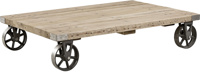 Salvage coffea table