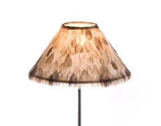 Lampshade Wild small feathers