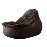 Groovy sackofåtölj i fårskinn och ull. Large