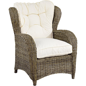 Jacksonville Wingchair. Kubu grey