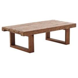 Soffbord  i åtevunnet trä