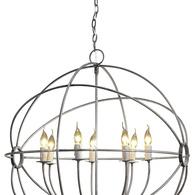 Gyro taklampa rostfritt stål