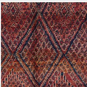 Beni Ourain Marockansk matta - Färg