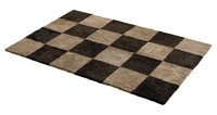 Chess fårskinnsmatta