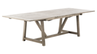 Trädgårdsbord med utdragskiva