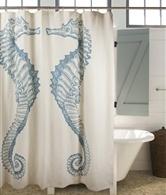 Sea Hourse shower curtain