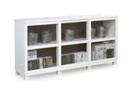 Case Sideboard 96 cm  hög välj vitringlas eller täckta dörrar.