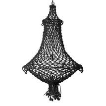 Taklampa i snöre natur eller svart